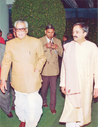 With Vice President of India, Bhairon Singh Shekawat